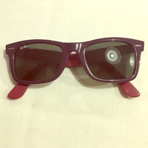 Authentic Ray-Ban Wayfarer Square Sunglasses!!